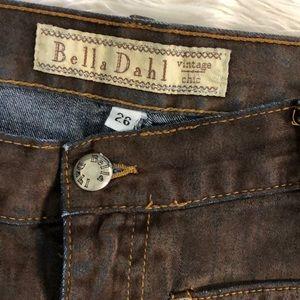 Bella Dahl Jeans - Ombré Suede & Denim Jeans